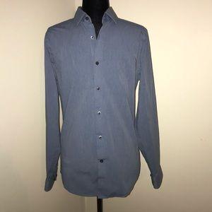 EXPRESS-Men's shirt- Long Sleeve- Extra Slim Fit
